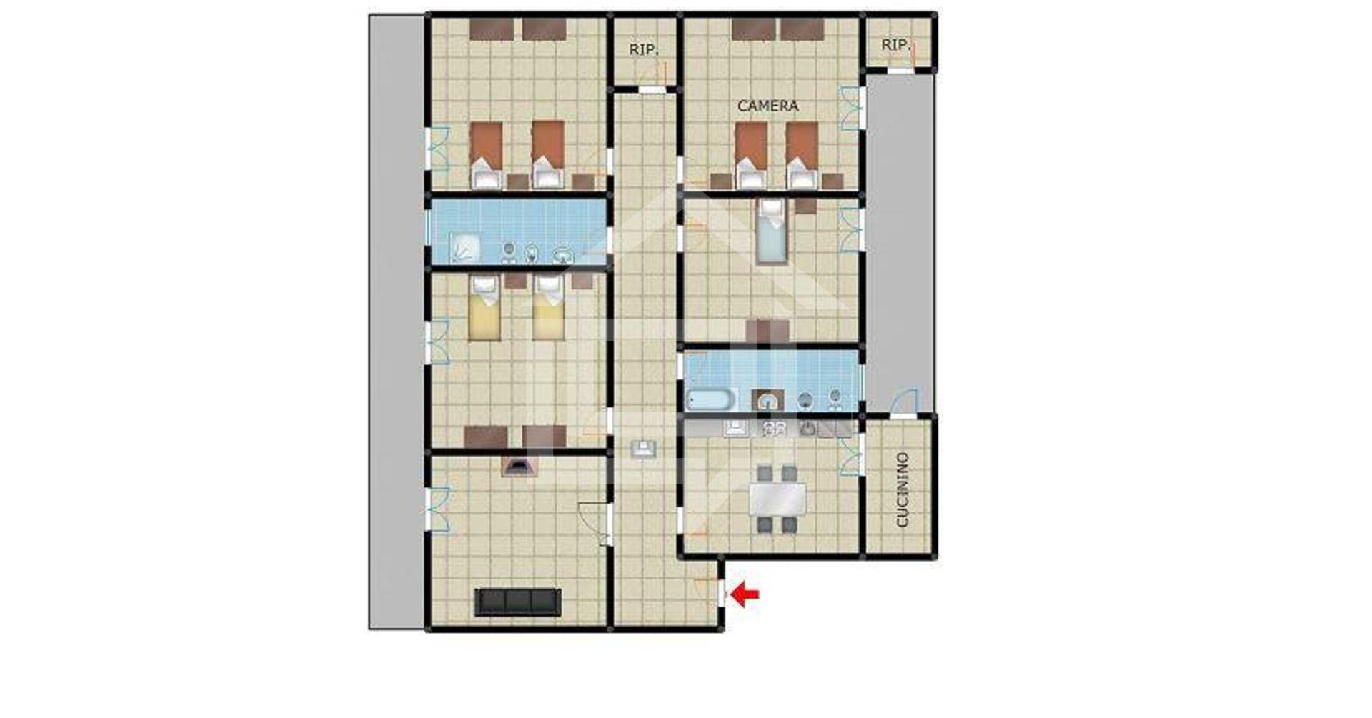 Divicasa appartamento in affitto a carosino taranto for Affitto taranto arredato